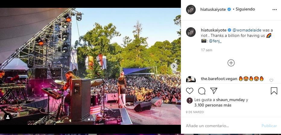 hiatus kayote instagram